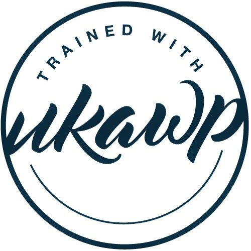 UKAWP trained logo