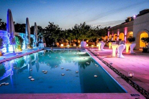 Pool area Rabat