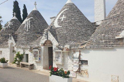 Alberobello traditional trulli